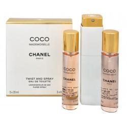 Chanel Coco Mademoiselle woda toaletowa dla kobiet 3 x 20 ml